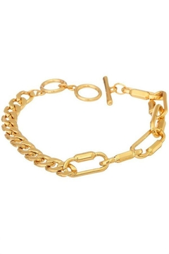 Ana Accessories Gold Plated Chain Bracelet - Alternate List Image