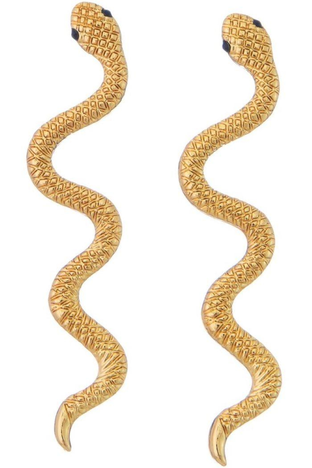 Ana Accessories Gold Snake Earrings - Main Image