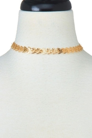 Ana Accessories Golden Butterfly Choker - Product Mini Image