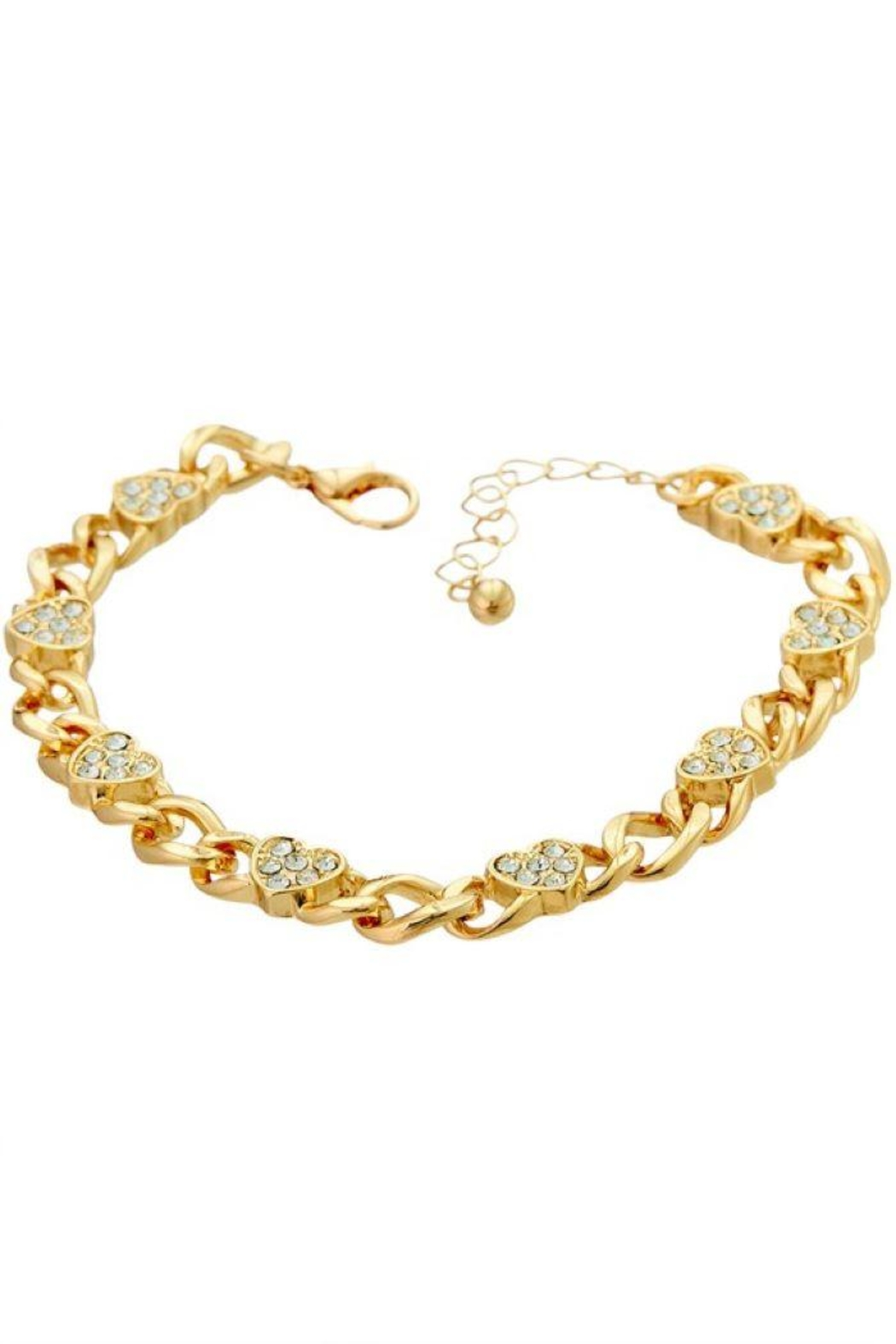 Ana Accessories Heart Chain Bracelet - Main Image