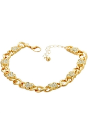 Ana Accessories Heart Chain Bracelet - Front cropped