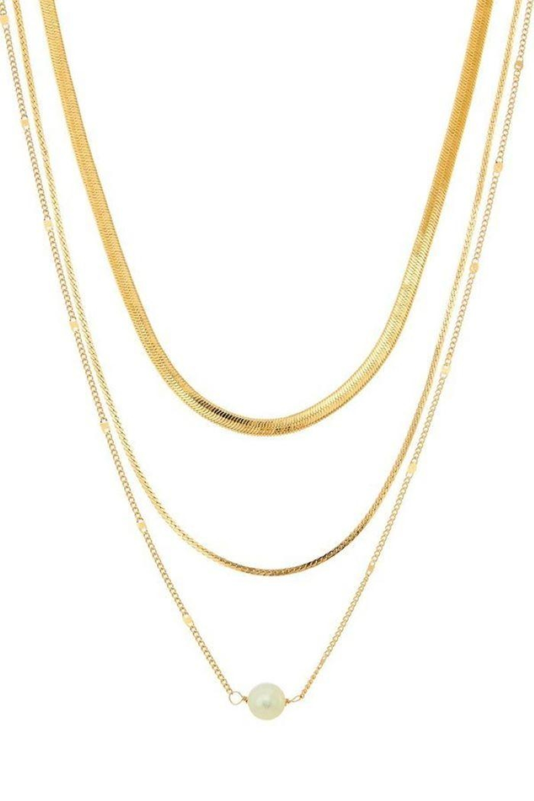 Ana Accessories Layered Chain Necklace - Main Image