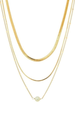 Shoptiques Product: Layered Chain Necklace