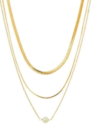 Ana Accessories Layered Chain Necklace - Product Mini Image