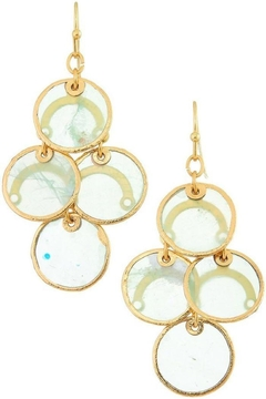Shoptiques Product: Linked Circle Drop Earring