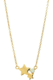 Ana Accessories Linked Star Necklace - Product Mini Image