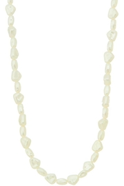 Ana Accessories Pearl Charm Necklace - Front cropped