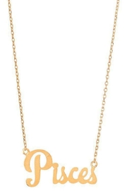 Ana Accessories Pisces Necklace - Product Mini Image