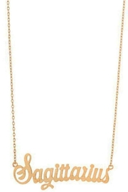 Ana Accessories Sagittarius Necklace - Front cropped