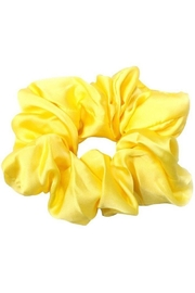 Ana Accessories Silk Scrunchies - Front cropped