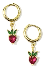 Ana Accessories Strawberry Earring - Product Mini Image