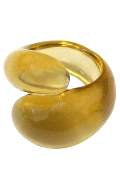 Ana Accessories Twisted Acrylic Ring - Alternate List Image