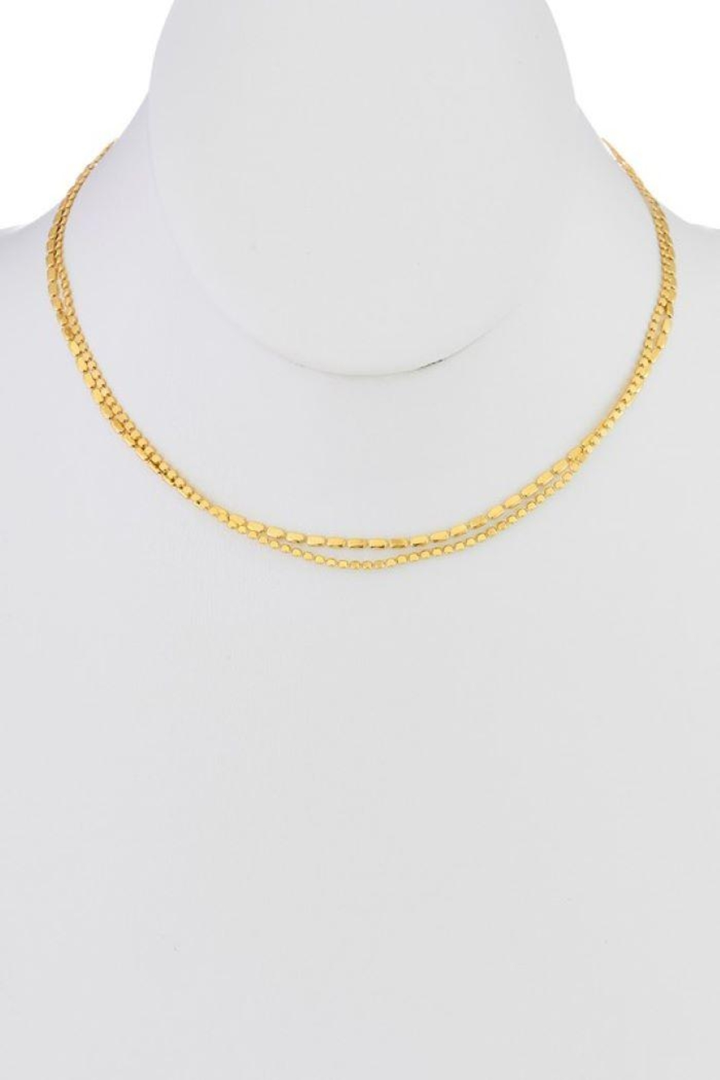 Ana Accessories Two-Layered Choker Necklace - Main Image