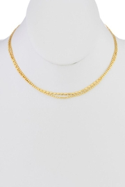 Ana Accessories Two-Layered Choker Necklace - Front cropped