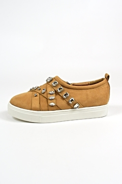 Shoptiques Product: Camel Fashion Sneakers