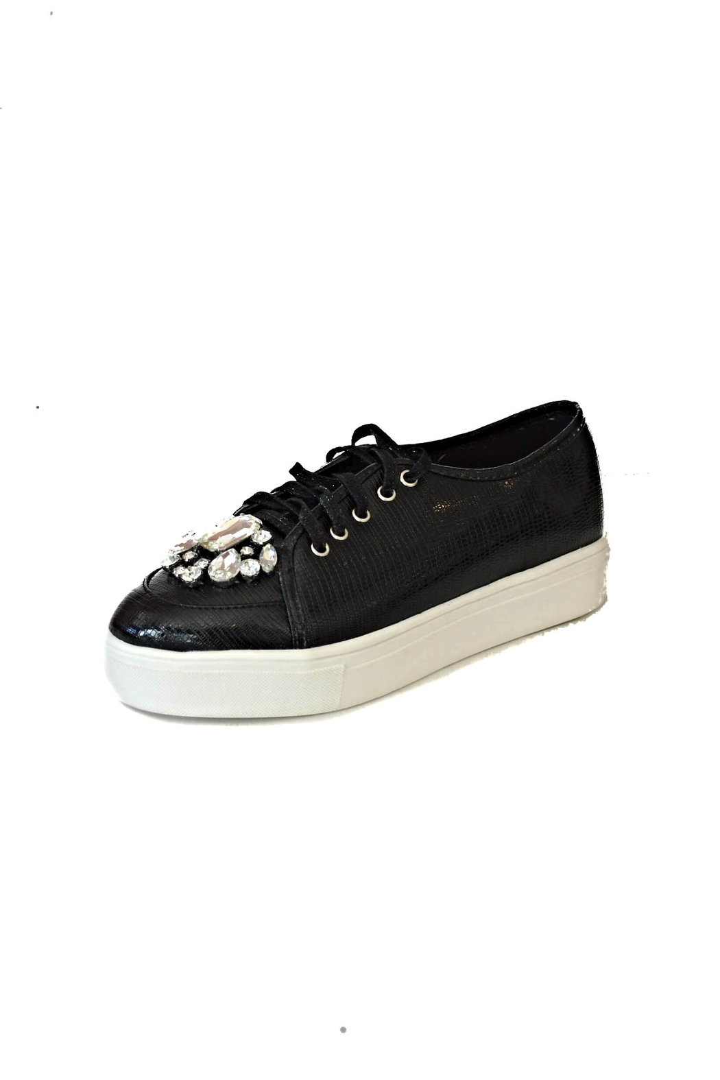 Ana Colina Boutique Diamonds Fashion Sneakers - Front Cropped Image