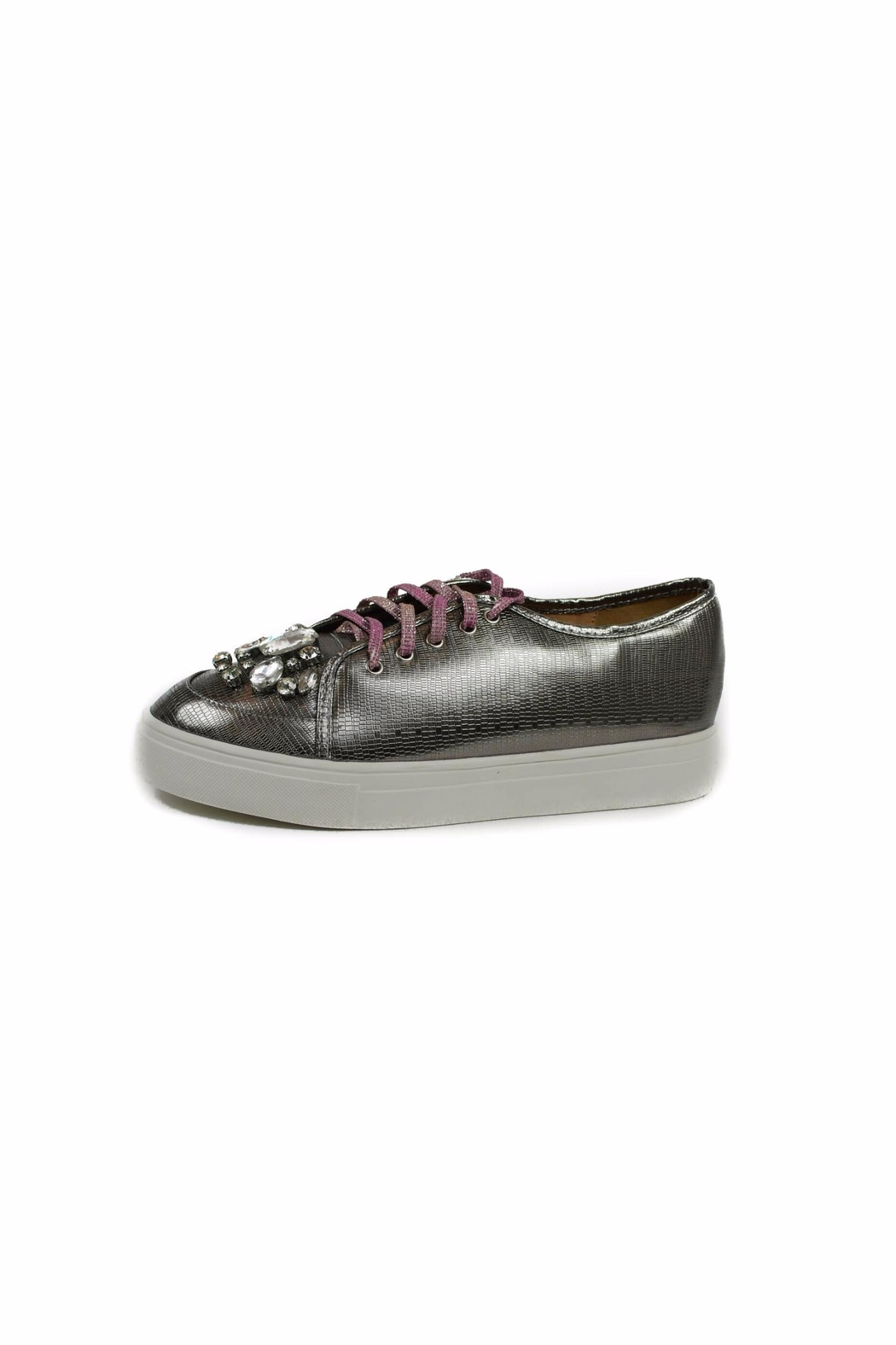 Ana Colina Boutique Diamonds Fashion Sneakers - Main Image