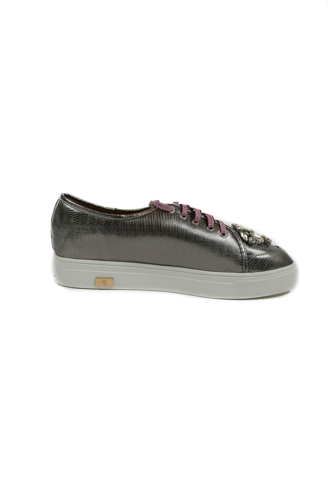 Ana Colina Boutique Diamonds Fashion Sneakers - Side Cropped Image