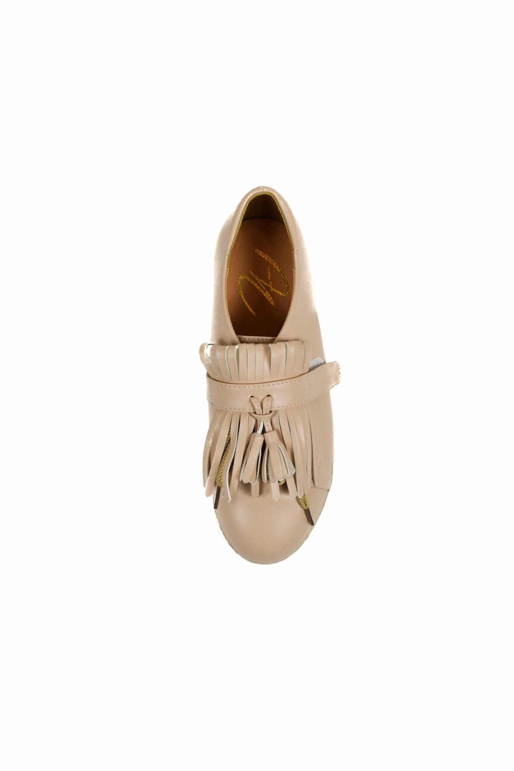 Ana Colina Boutique Fringes Sneakers - Front Full Image