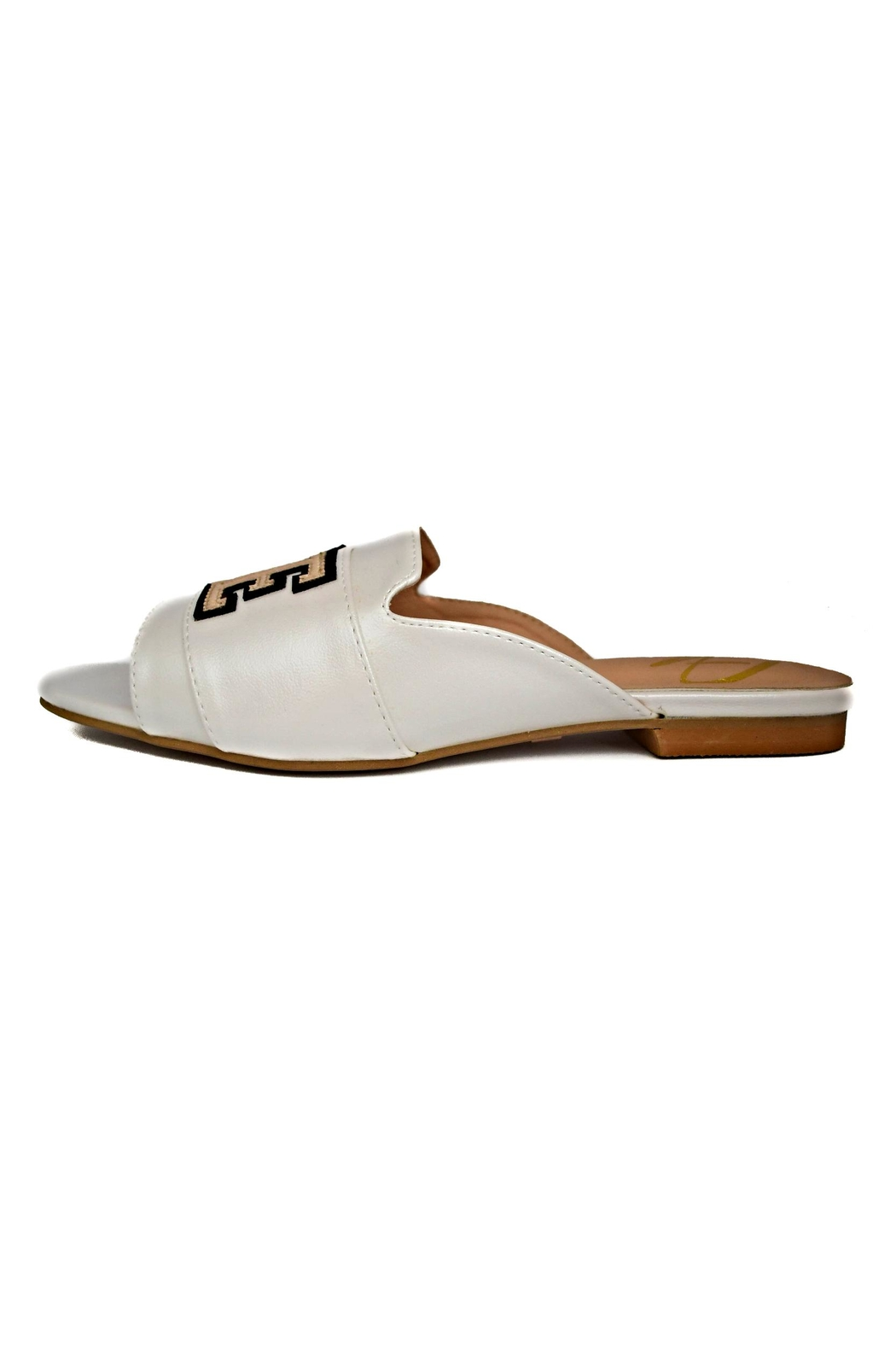 Ana Colina Boutique Love Slide Sandals - Front Cropped Image