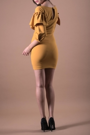 ANA PEREZ Yellow Casual Dress - Side cropped