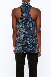 Analili Abbey Abstract Top - Back cropped