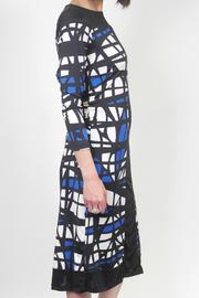 Analili Abstract Sheath Dress - Front full body