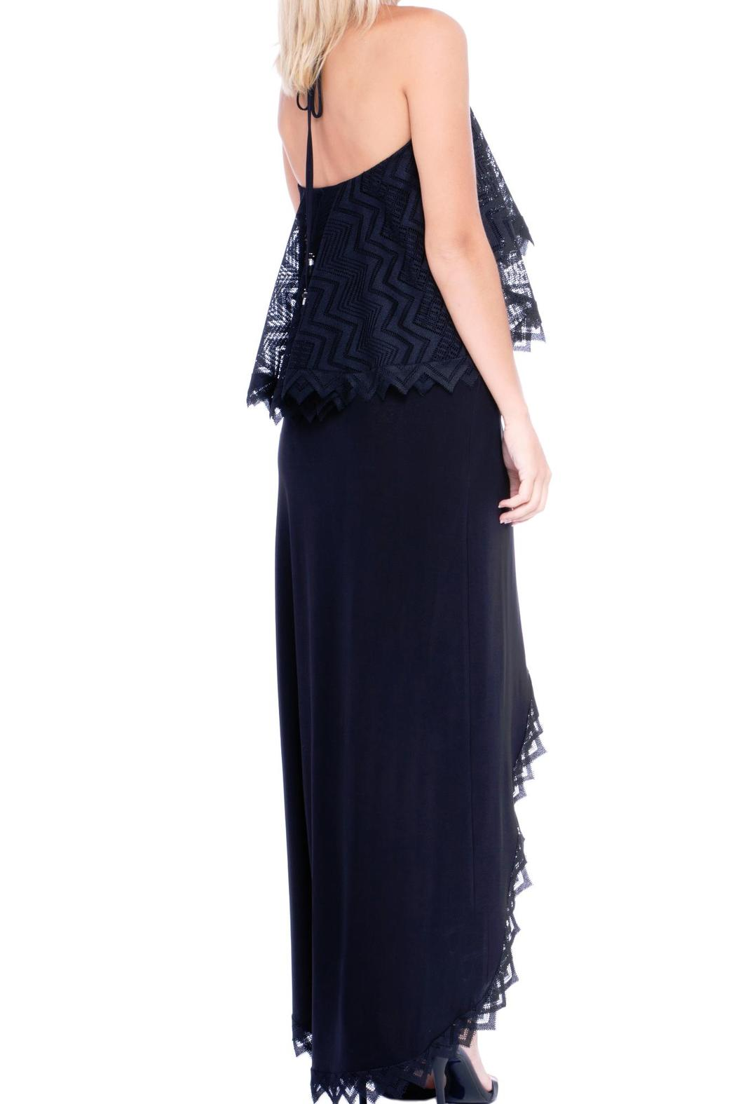 Analili Black Lace Dress - Front Full Image