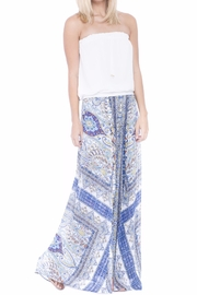Analili Paisley Flowy Pant - Front full body