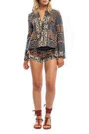 Anama Aztec Print Top - Product Mini Image