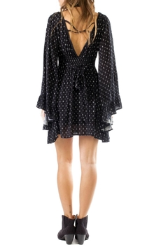 Anama Black Bell Sleeve Dress - Alternate List Image