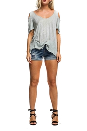 Anama Cold Shoulder Tee - Product Mini Image