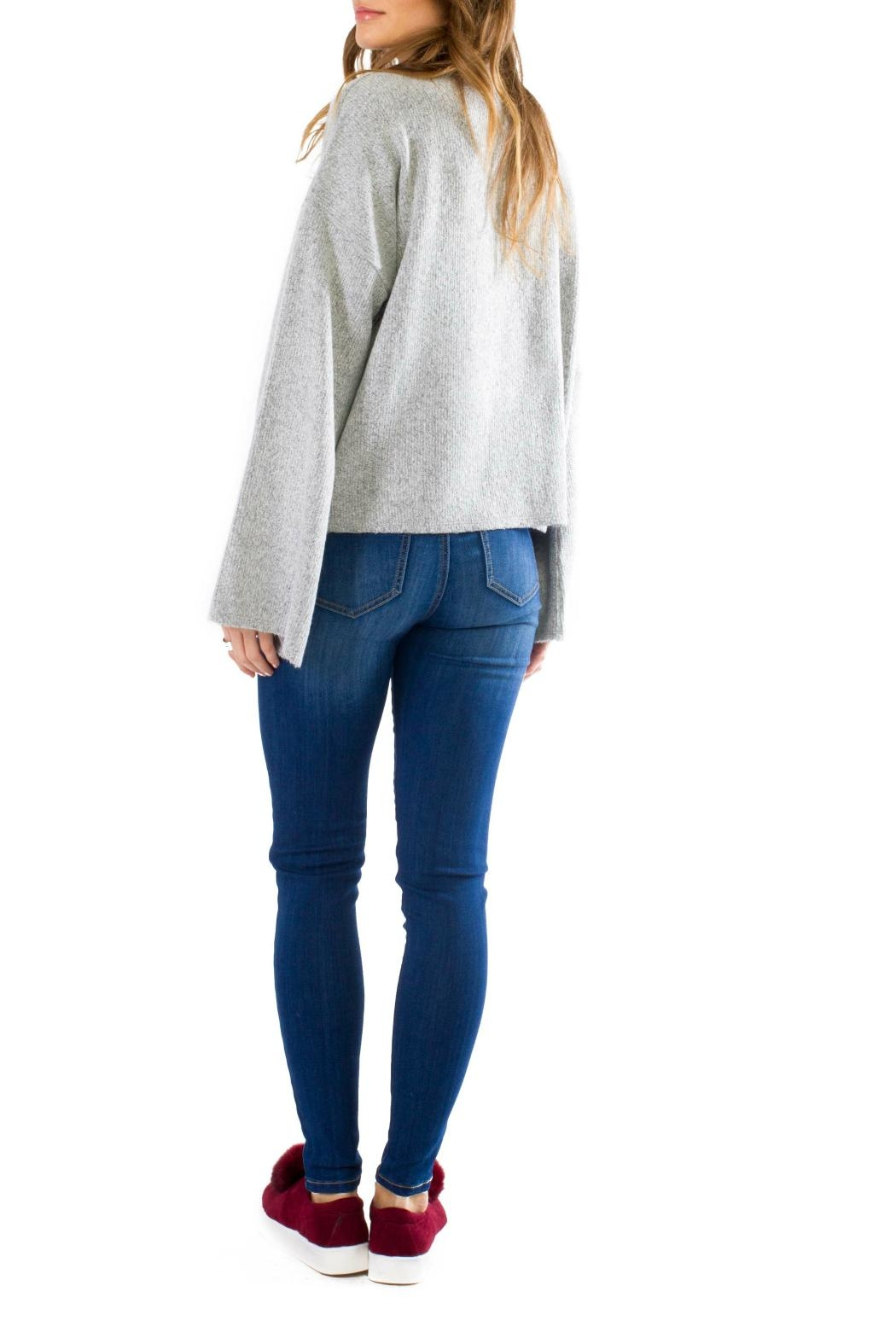 Anama Cozy Bell Sleeve Pullover - Front Full Image