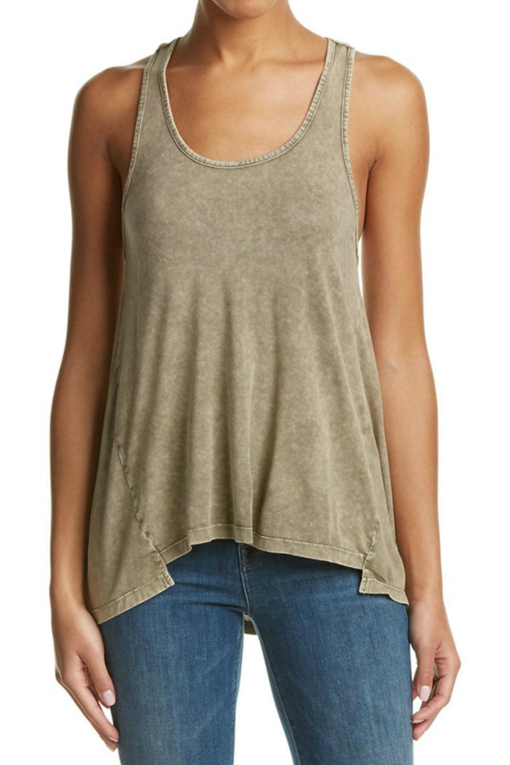 Anama Crochet Back Tank - Front Cropped Image