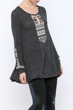 Shoptiques Product: Embroidered Knit Tunic