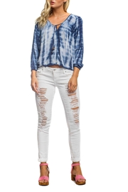 Anama Tie Dye Top - Front cropped