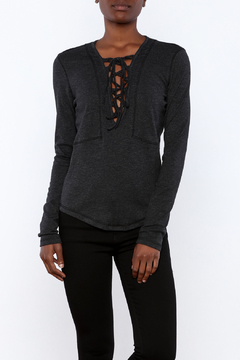 Shoptiques Product: Lace Up Blouse