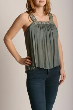 Anama Pleated Front Tank - Product List Image
