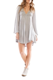 Anama Plunge Drawstring Tunic - Product Mini Image