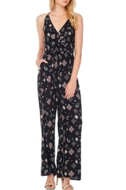 Anama Printed Ruffle Jumpsuit - Product Mini Image