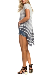 Anama Split Back Top - Front full body