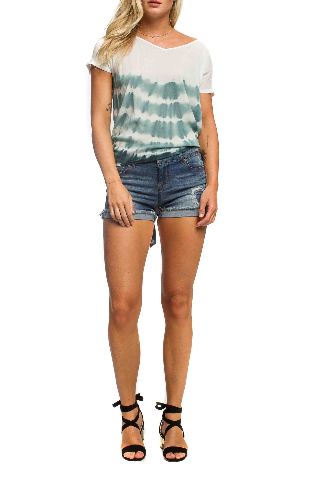 Anama Split Back Top - Front Cropped Image