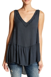 Anama Vida Charcoal Tank Top - Product Mini Image