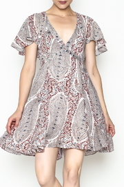 Anama Woven Dress - Front cropped