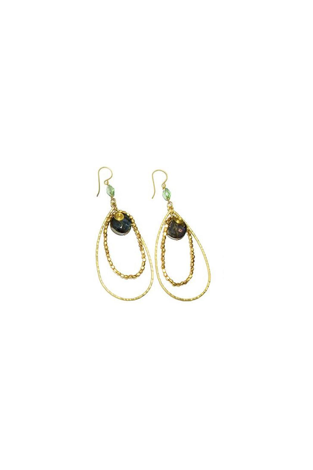 Ananda Crystal Earrings - Main Image