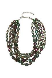 Ananda Iridescent Crystal Necklace - Product Mini Image