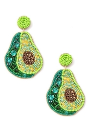 Anarchy Street Sparkling Avocado Earrings - Product Mini Image