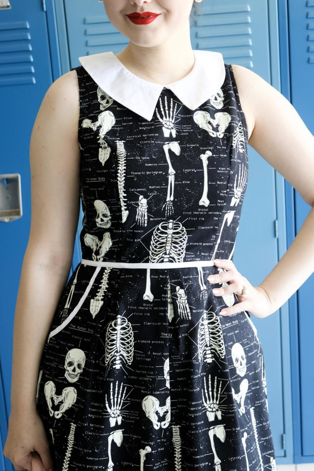 Retrolicious Anatomically Correct Glow-Dress - Front Cropped Image