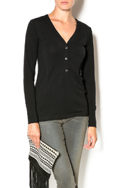 Anatomie Three Button Henley - Product Mini Image