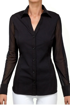 Shoptiques Product: Beth Button Front Shirt